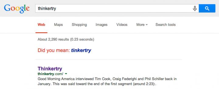thinkertry-google-result