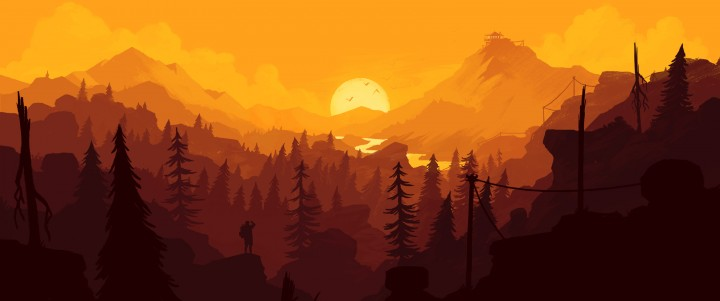 firewatch-sunset